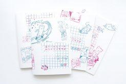 鈴木昭男 みちくさのすすめ ノートブック 4冊セット